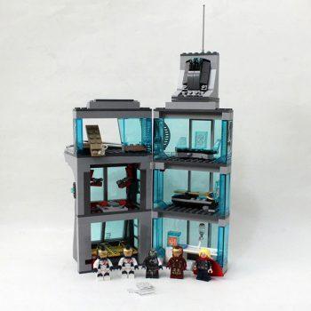 برج بلاک ساختنی بلاک ساختنی حمله به برج انتقام جویان